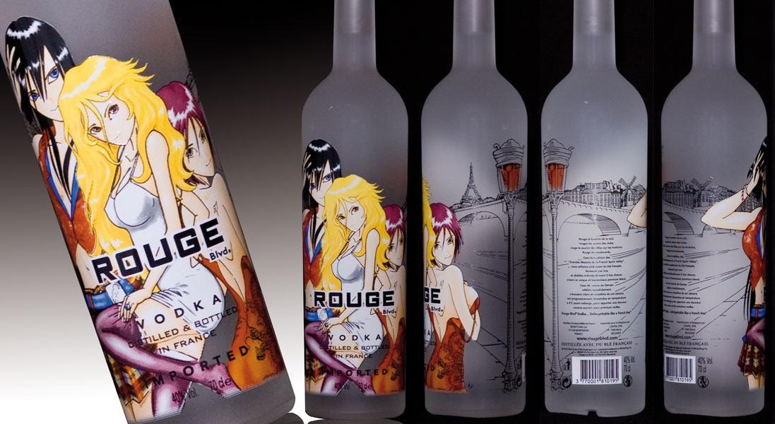 Rouge vodka